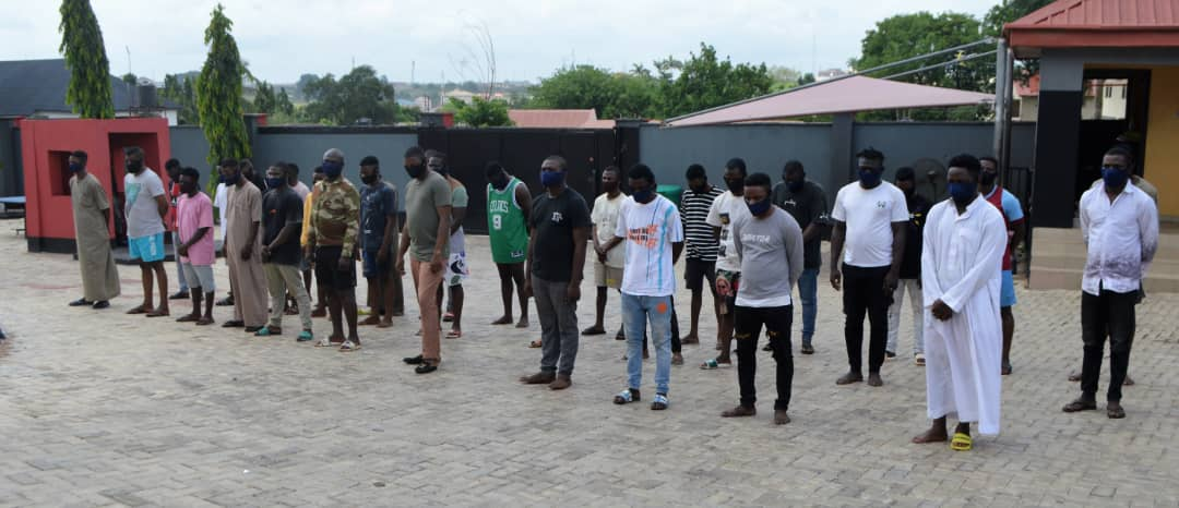 Army Deserter, 33 Others Arrested For 'Yahoo' Offence In Osogbo