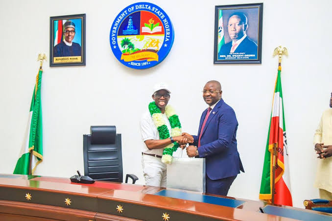 Delta State Governor Okowa Adopts Seven Olympic-bound Athletes