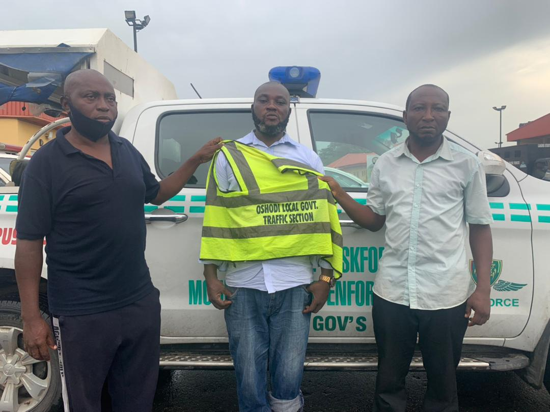 Task Force Arrests 3 Oshodi-Isolo LG Staff For Extortion + Photos