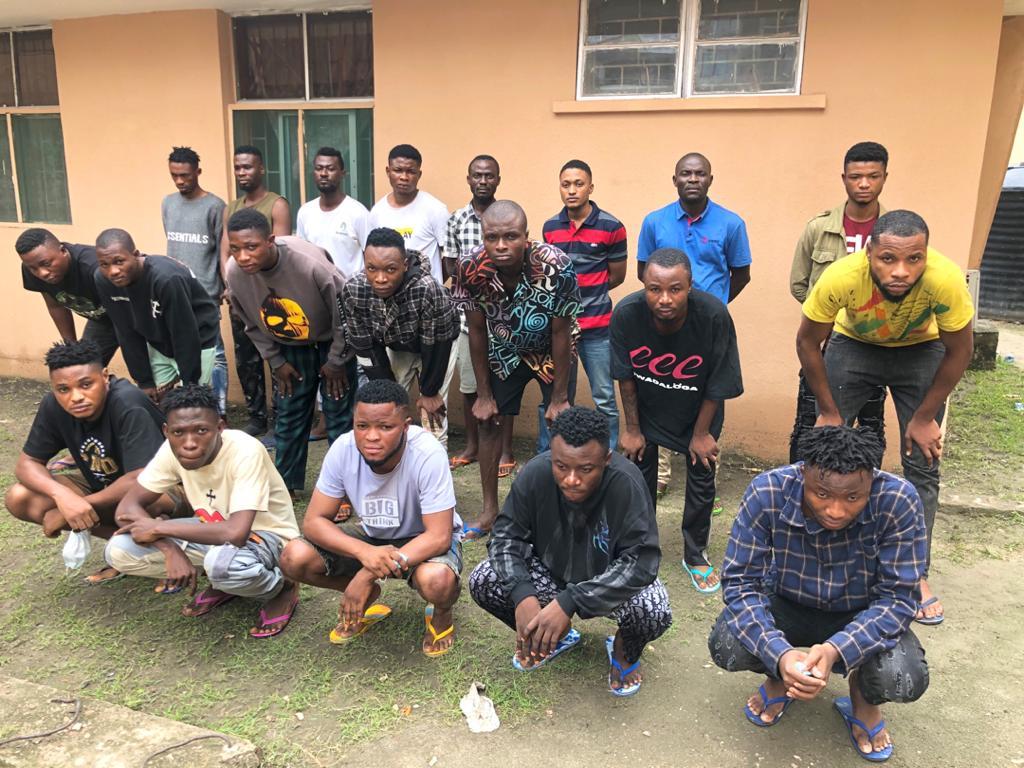 EFCC Arrests 44 'Yahoo' Offenders In Lagos