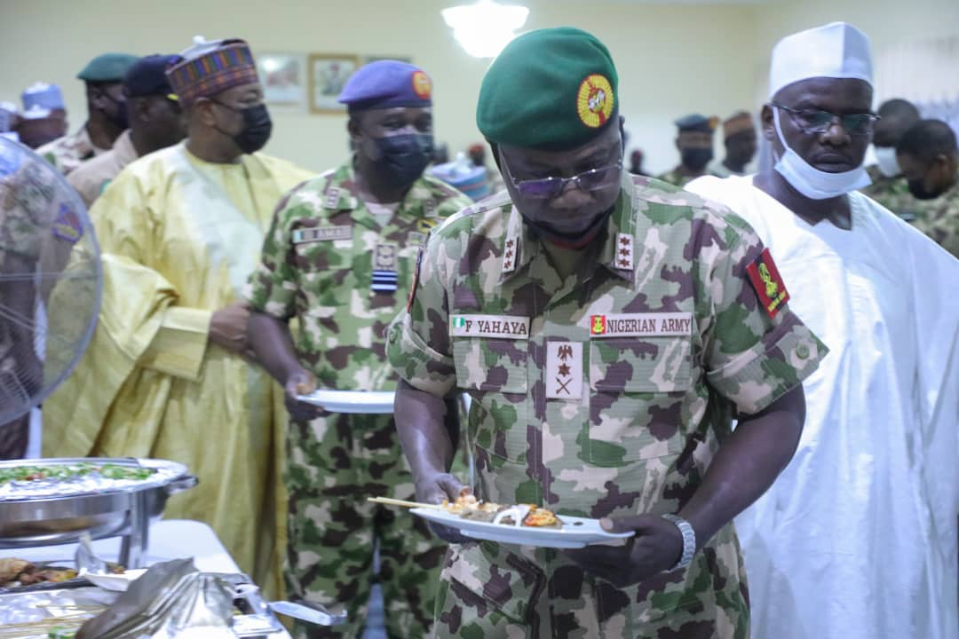 Army Chief Praises Zulum For Motivating Troops