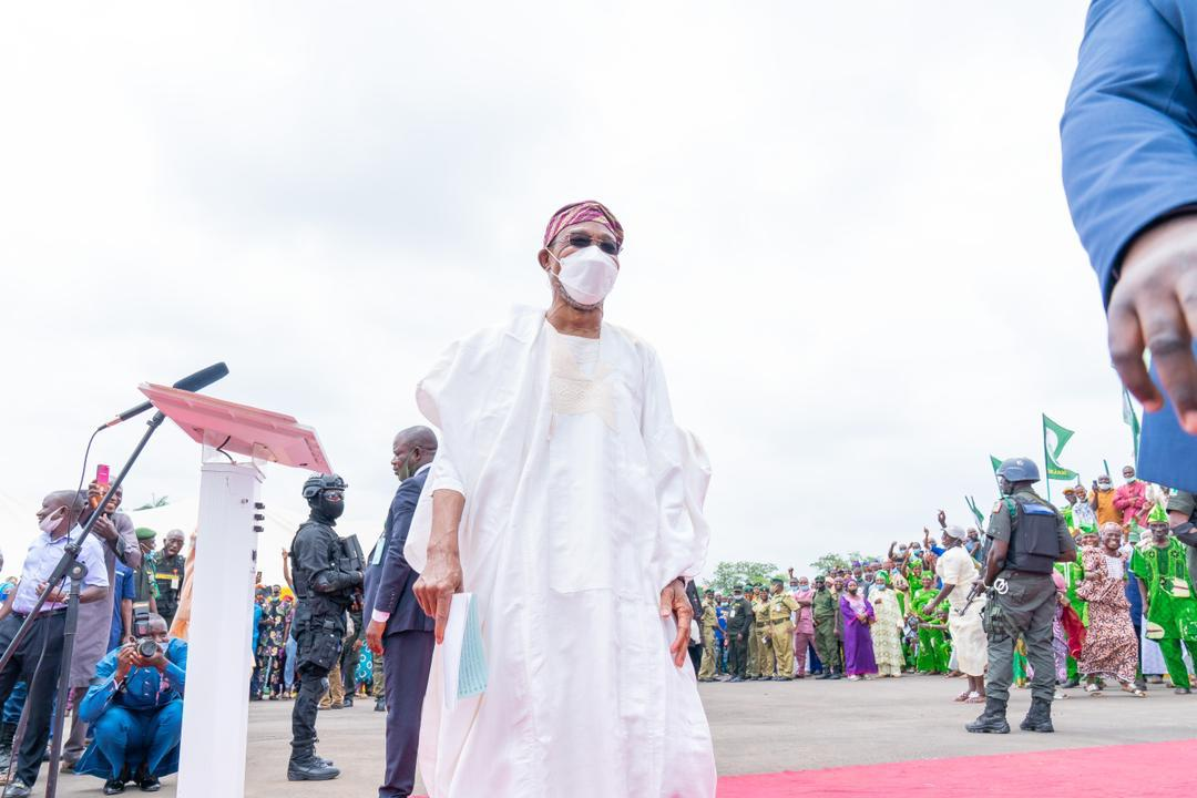 In Pictures, Aregbesola Commissions New Osun Command Headquarters Of Nigeria Correctional Service