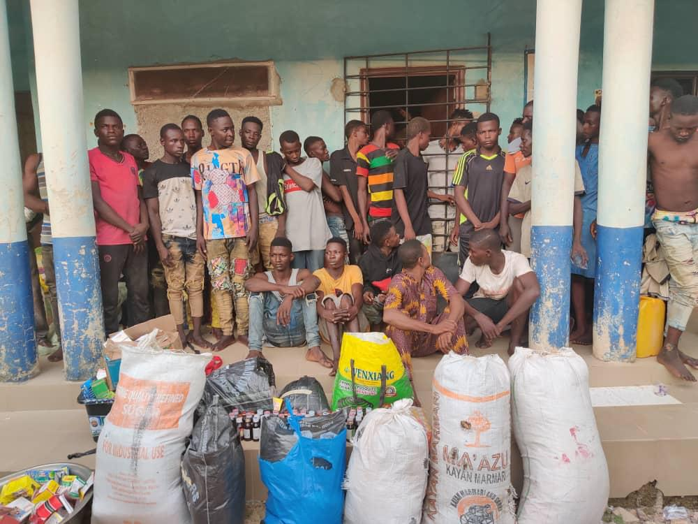 Videos, Images As NDLEA Arrests 43 Drug Dealers In Ondo, Nasarawa, Benue Raids; 137.55kg Cocaine, Skunk, Others Seized