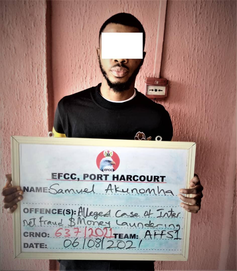 EFCC Arraigns Suspected Internet Fraudster For N425m Fraud In Port Harcourt