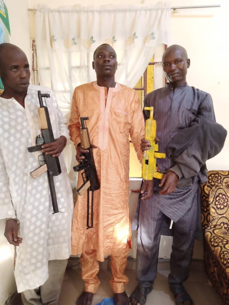 NDLEA Intercepts Bandits, Seizes Heavy Weapons In Katsina, Benue