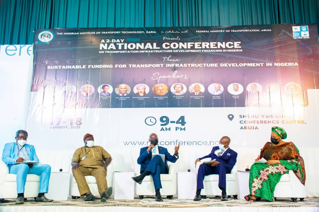 In Pictures, Fashola, Gbemi Saraki, Others At National Conference On Transport Development Financing In Nigeria