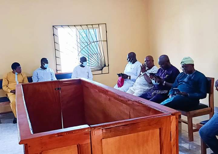 Osun APC Crisis Deepens As Party Secretary, ex-Chairman, 5 Other Aregbesola Loyalists Are Arraigned In Court + Photos, Charge Sheet