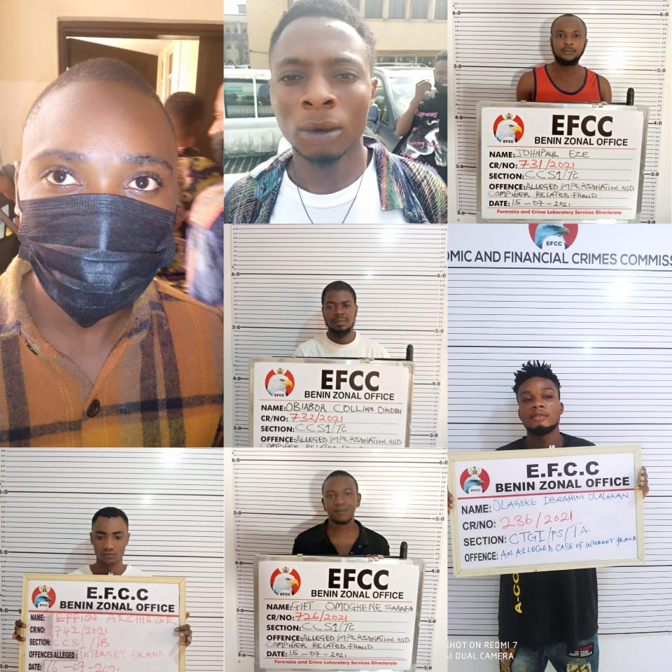 Court Sends 27 'Yahoo' Boys, Three Others To Jail In Port Harcourt