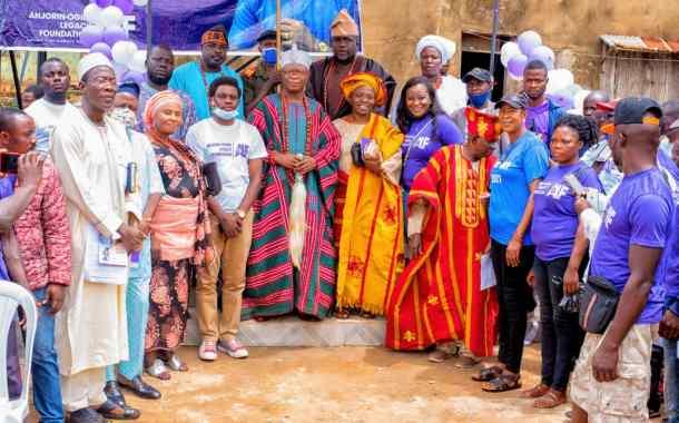 Charity Donates 3 Water Boreholes In Ijero-Ekiti Community