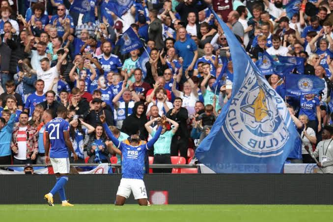 Breaking: Iheanacho Wins Community Shield For Leicester City