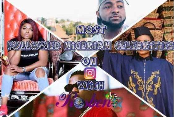 Four Nigerian Singers, One Actress Make Top 100 Instagram Rich List