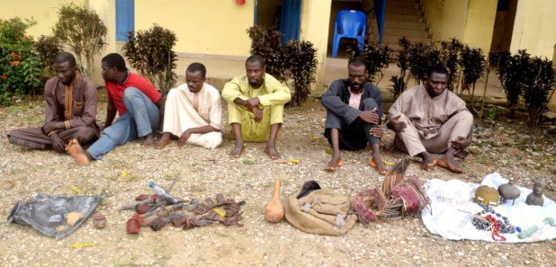 Osun Police Nab Two Brothers, Four Others For Killing Man, Selling His Heart For N15,000 + Photos