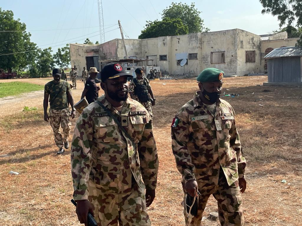 Troops Restore Normalcy In Rann After Engaging Fleeing ISWAP Fighters Midnight