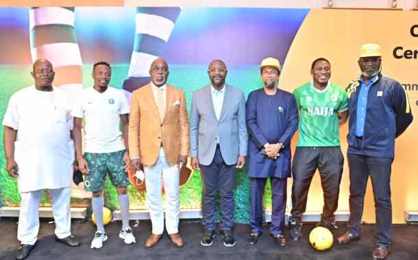 Breaking: MTN Becomes Exclusive Communications Partner Of Nigeria's National Football Teams + Photos