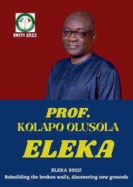 Ekiti 2022: Eleka Our Choice, We May Consider Bisi Kolawole If... - Pro-Eleka Delegates Declare Support; Say Oni Is No-go-area