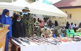 Police Nab 2 Women, 32 Other High-profile Kidnappers, Trans-border Car Thieves; Recover 15 Stolen Cars, 11 Firearms, Others