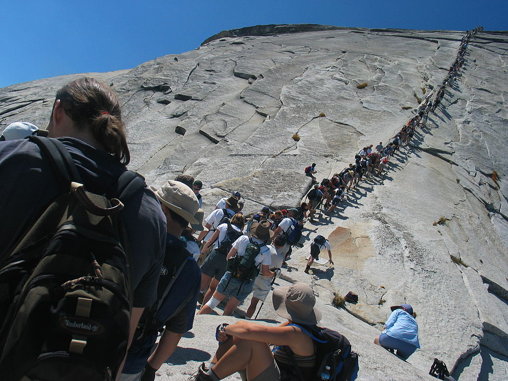 0527e0de091f Drink A Pint From The Top Of Half Dome – The GearCaster
