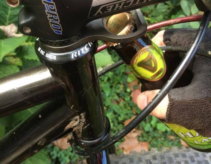 WiseCracker bike bottle opener