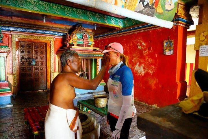 Hindu blessing
