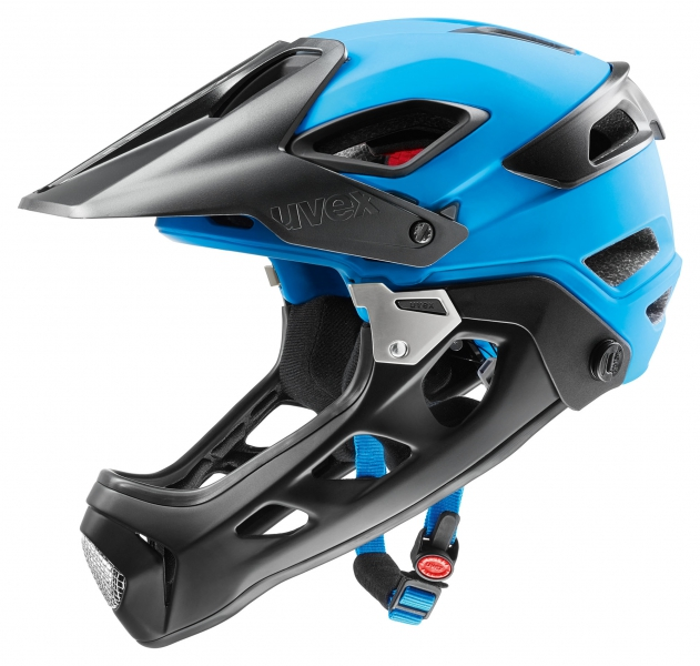All-Mountain Helmets With Detachable Chin Bar
