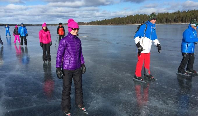 Skating in Sweden