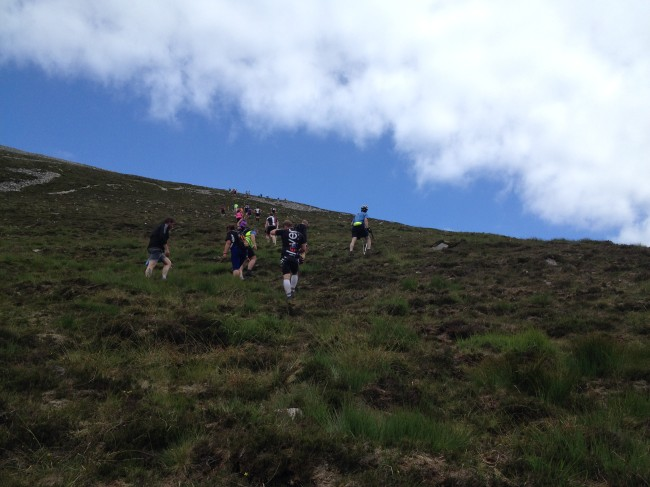 Climbing Mt. Errigal
