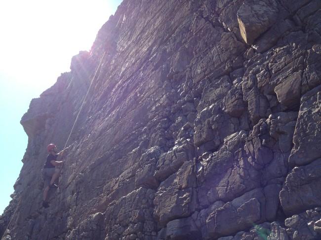 Climbing Berg Stack