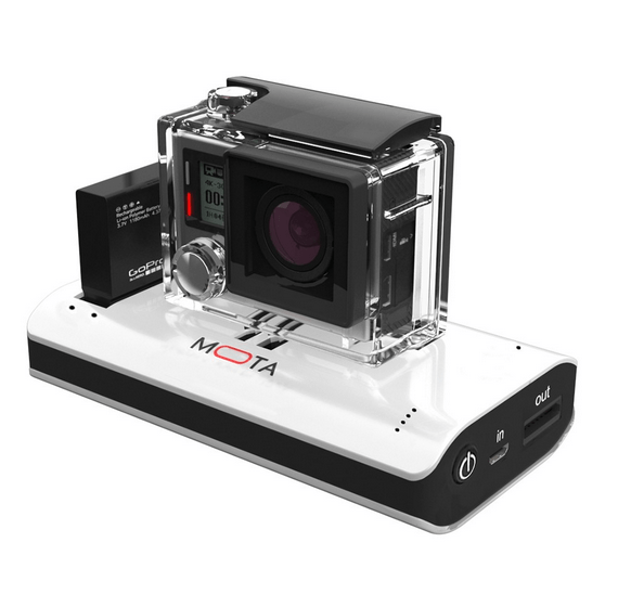 Mota Wireless GoPro Charger