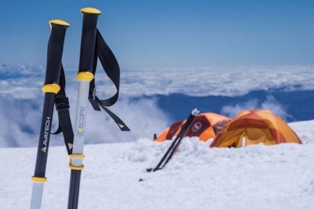 Scope Ski Poles