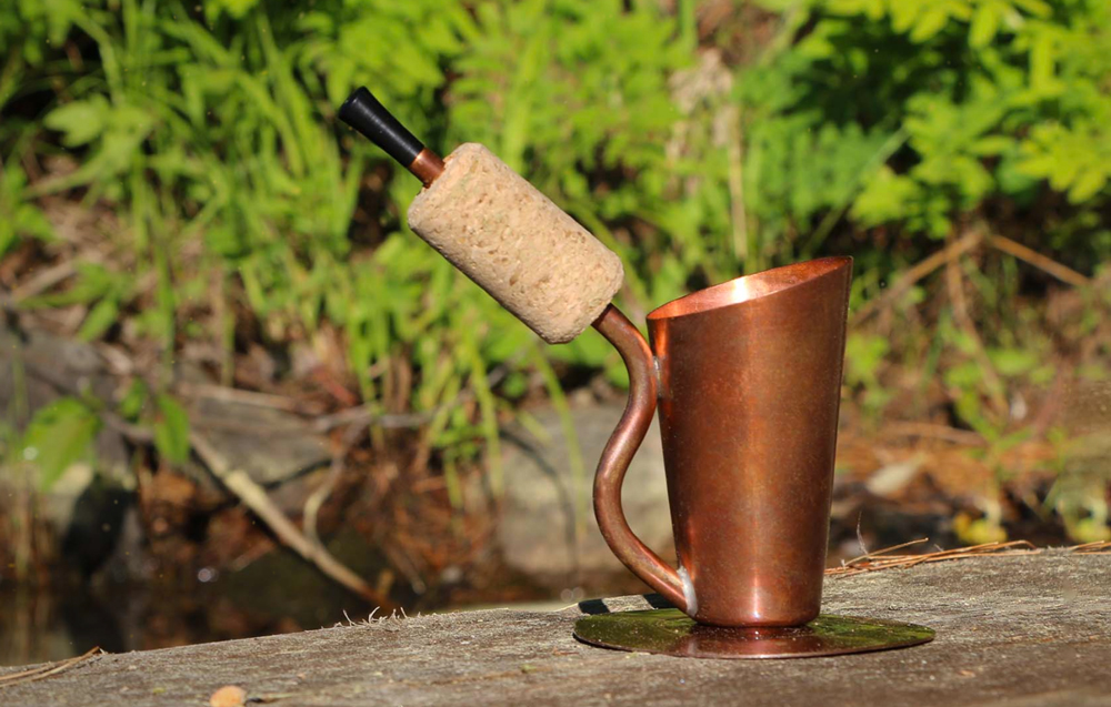 How to Brew Coffee in a Copper Pipe