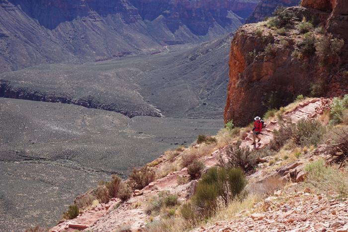 hiker grand canyon