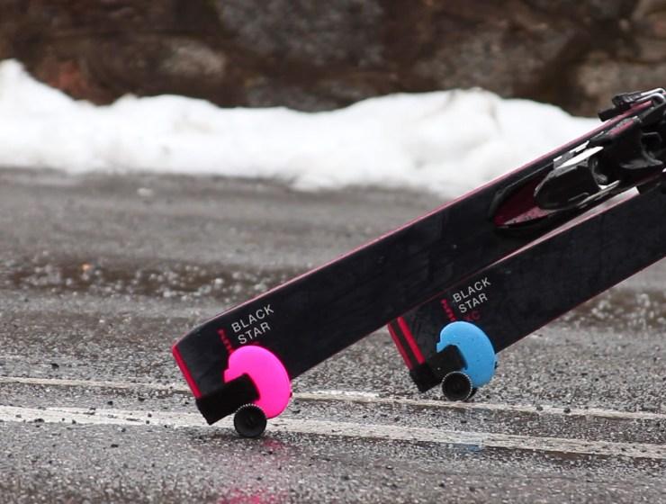 Skiddi Ski Wheels