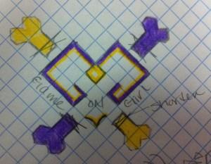 gog logo cross bones