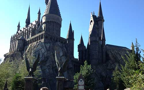 Harry Potter and the Forbidden Journey, Hogsmeade, Islands of Adventure