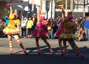 Universal Studios Hop dancers