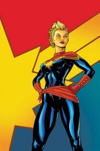 Captain Marvel Issue 1 Cover
