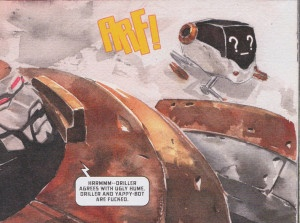 Descender issue 5 July 2015 Bandit
