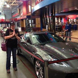 National Corvette Museum shark x car