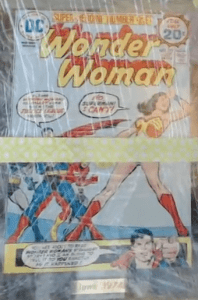 wonder woman comic 1974