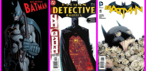 3 modern Batman titles