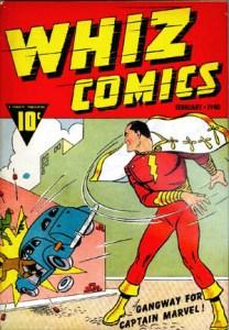 """""""Whiz Comics,"""" Issue 2, Feb 1940, Fawcett Comics"""