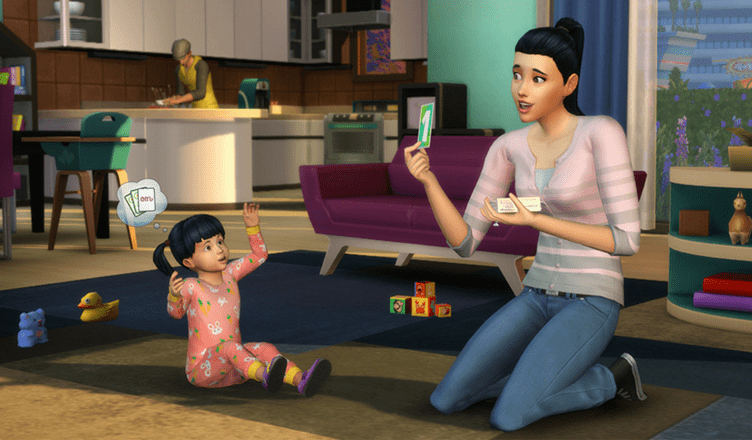 The Sims 4 Gets a Very Big (and Cute) Update   The Sims 4: Toddlers