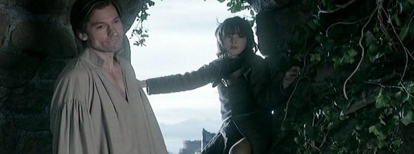 game of thrones jaime lannister brandon stark