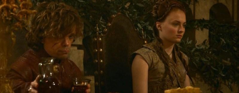 game of thrones tyrion lannister sansa stark