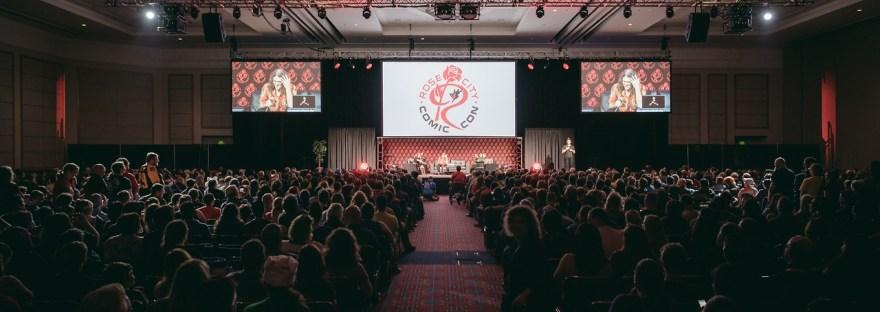 RCCC panel crowd