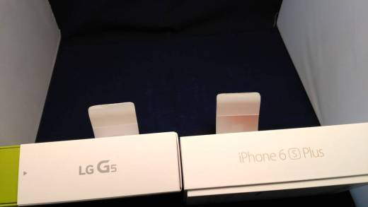 G5 vs iPhone 6S Plus