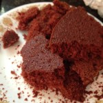 Second red velvet cake. It got a little crumbly, so we fixed it with cream cheese icing!