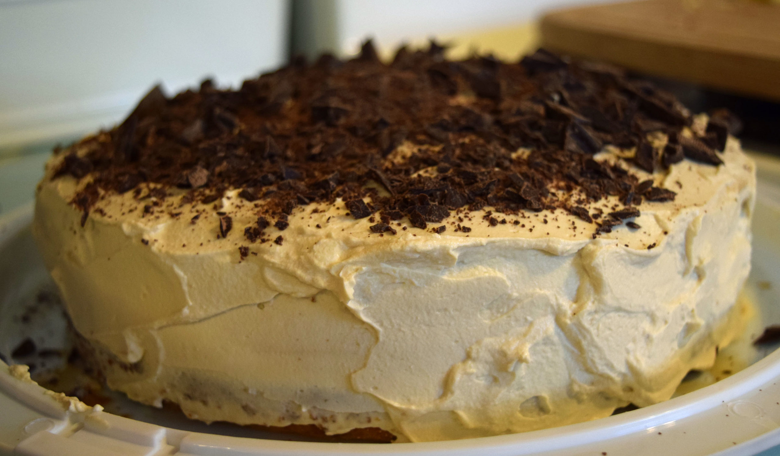 Friday Bakes in 3 Parts – Tiramisu Cake