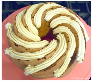 Maple Brown Sugar-Cinnamon Bundt Cake