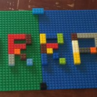 Lego Challenge Tuesday - Build Your Name